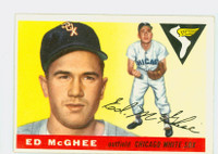 1955 Topps Baseball 32 Ed McGhee Chicago White Sox Very Good