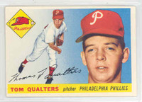 1955 Topps Baseball 33 Tom Qualters Philadelphia Phillies Excellent to Mint