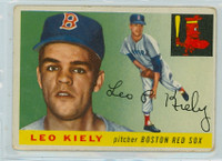 1955 Topps Baseball 36 Leo Kiely Boston Red Sox Good to Very Good