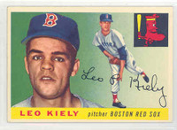 1955 Topps Baseball 36 Leo Kiely Boston Red Sox Very Good to Excellent