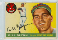 1955 Topps Baseball 39 Bill Glynn Cleveland Indians Very Good