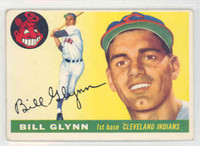 1955 Topps Baseball 39 Bill Glynn Cleveland Indians Very Good to Excellent