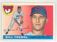 1955 Topps Baseball 52 Bill Tremel Chicago Cubs Excellent