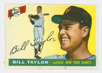 1955 Topps Baseball 53 Bill Taylor New York Giants Very Good