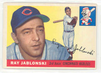 1955 Topps Baseball 56 Ray Jablonski Chicago Cubs Excellent to Excellent Plus