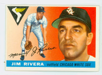 1955 Topps Baseball 58 Jim Rivera Chicago White Sox Very Good