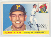 1955 Topps Baseball 59 Gair Allie Pittsburgh Pirates Excellent to Mint