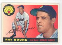 1955 Topps Baseball 65 Ray Boone Detroit Tigers Excellent to Excellent Plus