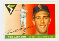 1955 Topps Baseball 66 Ron Jackson Chicago White Sox Very Good