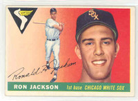 1955 Topps Baseball 66 Ron Jackson Chicago White Sox Excellent
