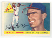1955 Topps Baseball 67 Wally Moon St. Louis Cardinals Excellent