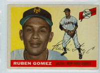 1955 Topps Baseball 71 Ruben Gomez New York Giants Very Good to Excellent