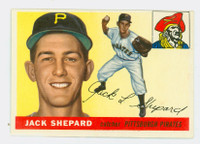 1955 Topps Baseball 73 Jack Shepard Pittsburgh Pirates Excellent