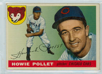 1955 Topps Baseball 76 Howie Pollet Chicago Cubs Good to Very Good