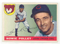 1955 Topps Baseball 76 Howie Pollet Chicago Cubs Excellent