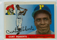 1955 Topps Baseball 107 Curt Roberts Pittsburgh Pirates Good to Very Good