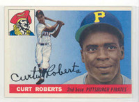 1955 Topps Baseball 107 Curt Roberts Pittsburgh Pirates Excellent