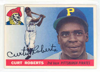 1955 Topps Baseball 107 Curt Roberts Pittsburgh Pirates Excellent to Mint