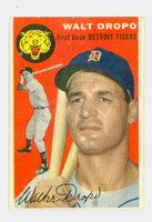1954 Topps Baseball 18 Walt Dropo Detroit Tigers Very Good to Excellent