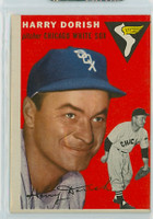 1954 Topps Baseball 110 Harry Dorish Chicago White Sox Very Good