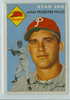 1954 Topps Baseball 196 Stan Jok Philadelphia Phillies Very Good to Excellent