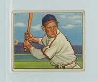 1950 Bowman Baseball 36 Eddie Kazak St. Louis Cardinals Very Good