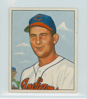 1950 Bowman Baseball 40 Bob Lemon Cleveland Indians Fair to Poor
