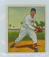 1950 Bowman Baseball 80 Howard Fox Cincinnati Reds Excellent to Excellent Plus