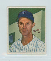1950 Bowman Baseball 154 Gus Niarhos New York Yankees Excellent
