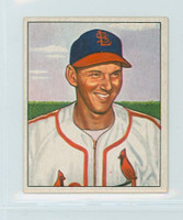 1950 Bowman Baseball 238 Vernal Jones St. Louis Cardinals Excellent