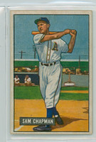 1951 Bowman Baseball 9 Sam Chapman Philadelphia Athletics Very Good to Excellent