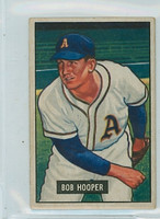1951 Bowman Baseball 33 Bob Hooper Philadelphia Athletics Very Good