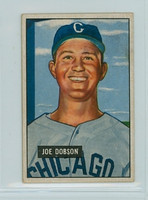 1951 Bowman Baseball 36 Joe Dobson Chicago White Sox Very Good to Excellent