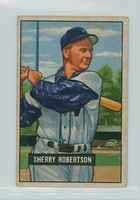 1951 Bowman Baseball 95 Sherry Robertson Washington Senators Very Good