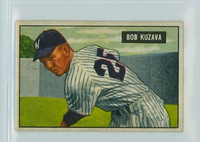 1951 Bowman Baseball 97 Bob Kuzava Washington Senators Excellent