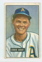1951 Bowman Baseball 119 Eddie Joost Philadelphia Athletics Very Good to Excellent