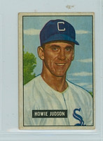 1951 Bowman Baseball 123 Howie Judson Chicago White Sox Very Good