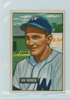 1951 Bowman Baseball 241 Irv Noren Washington Senators Excellent