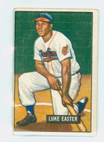 1951 Bowman Baseball 258 Luke Easter ROOKIE High Number Cleveland Indians Very Good to Excellent