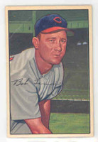 1952 Bowman Baseball 23 Bob Lemon Cleveland Indians Very Good to Excellent