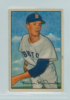 1952 Bowman Baseball 25 Maurice McDermott Boston Red Sox Very Good