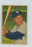1952 Bowman Baseball 31 Eddie Yost Washington Senators Very Good to Excellent
