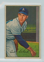 1952 Bowman Baseball 46 Carl Scheib Philadelphia Athletics Very Good