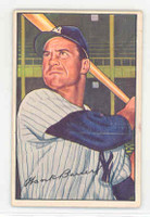 1952 Bowman Baseball 65 Hank Bauer New York Yankees Excellent
