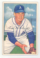 1952 Bowman Baseball 89 Billy Hitchcock Philadelphia Athletics Excellent