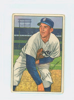1952 Bowman Baseball 96 Ralph Branca Brooklyn Dodgers Fair to Good