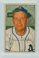 1952 Bowman Baseball 98 Jimmy Dykes Philadelphia Athletics Very Good to Excellent
