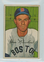 1952 Bowman Baseball 129 Gus Niarhos Boston Red Sox Very Good