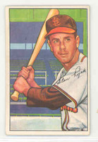 1952 Bowman Baseball 137 Stan Rojek St. Louis Browns Excellent