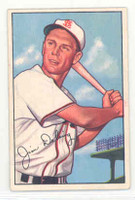 1952 Bowman Baseball 157 Jim Delsing St. Louis Browns Excellent